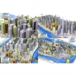 Puzzle 4D New-York 840 Pièces