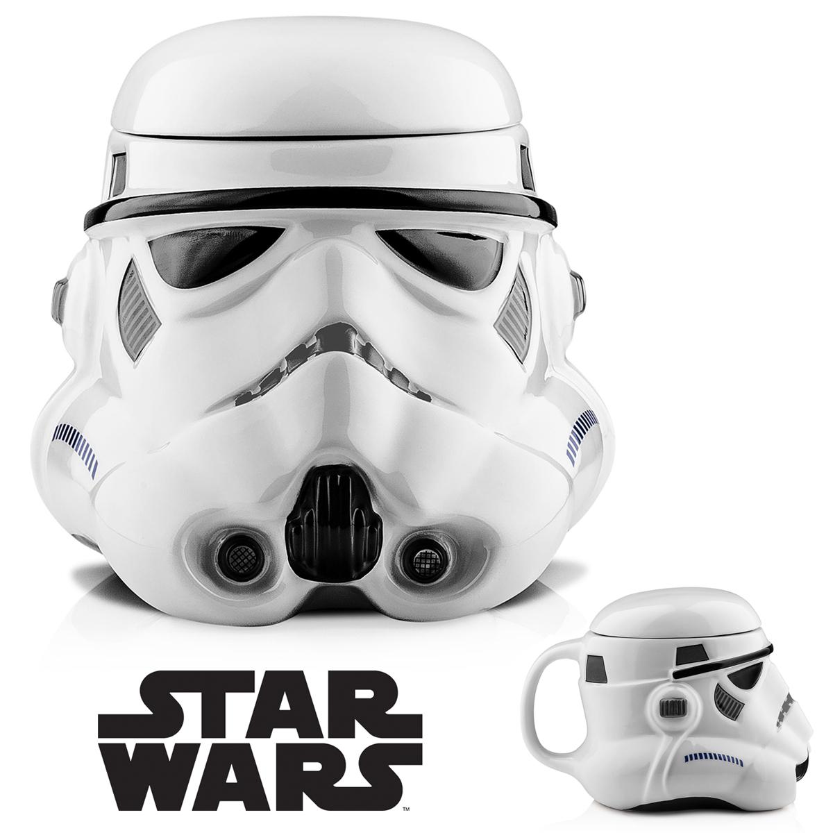mug 3d stormtrooper c ramique star wars cadeau geek star wars sur cadeaux et. Black Bedroom Furniture Sets. Home Design Ideas