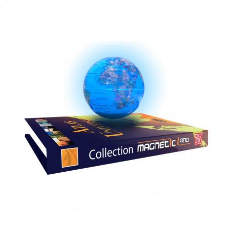 Globe Flottant Atlas Universel en Lévitation