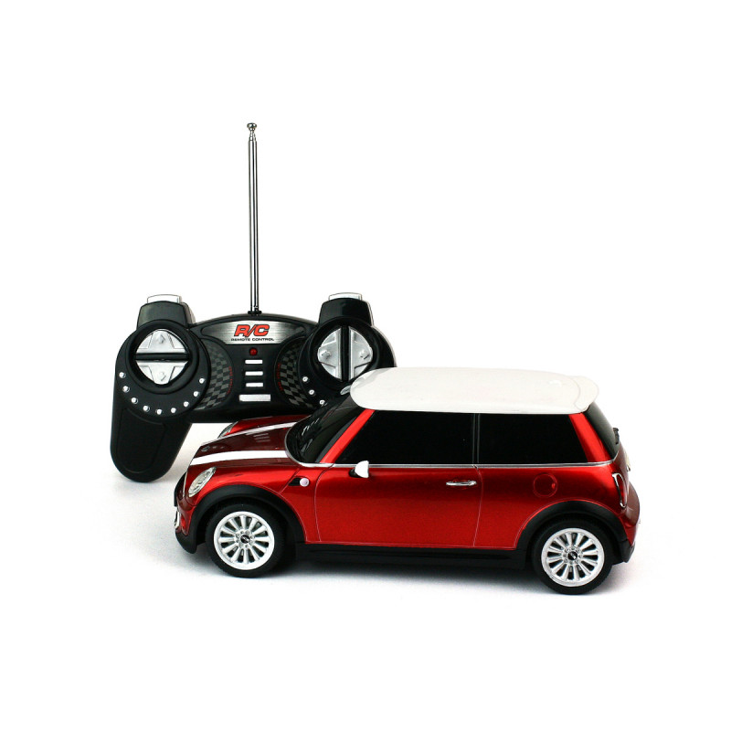 mini cooper radiocommand e cadeau jeu original sur cadeaux et. Black Bedroom Furniture Sets. Home Design Ideas