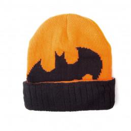 Bonnet Batman Jaune Orangé et Noir