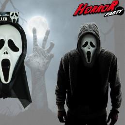 Masque Scream avec Capuche