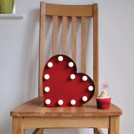 objet d co design en forme de c ur lumineux sur cadeaux et anniversaire. Black Bedroom Furniture Sets. Home Design Ideas