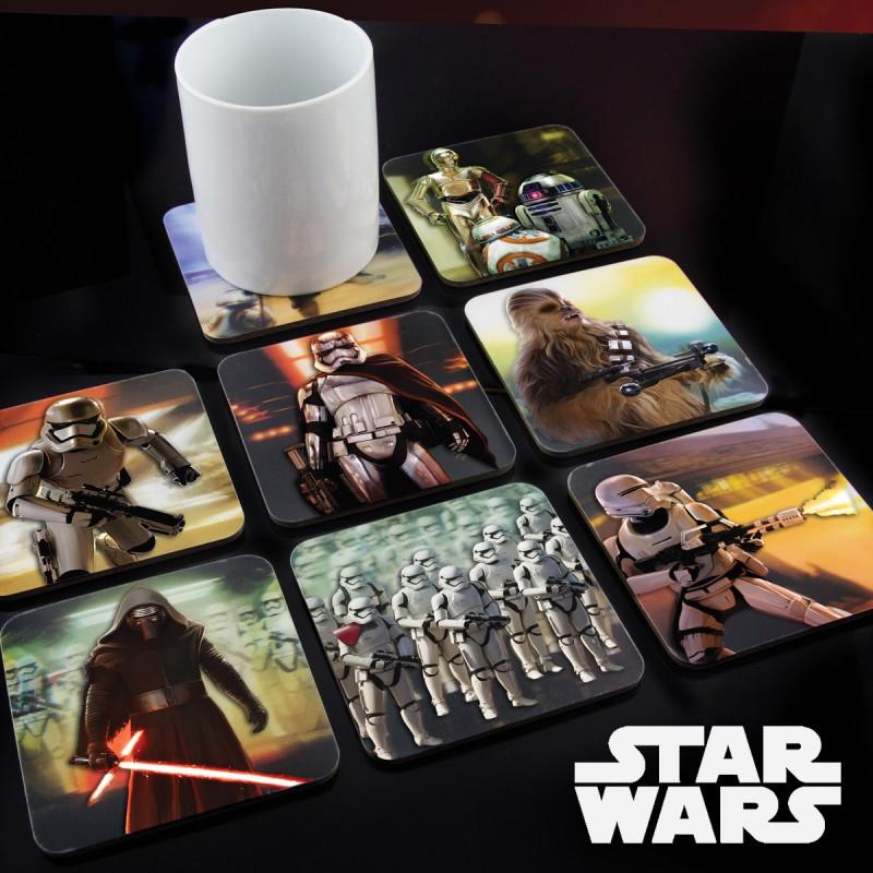 Dessous De Verre Originaux à Leffigie De Star Wars épisode 7 Sur