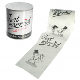 Papier Toilette Just Married