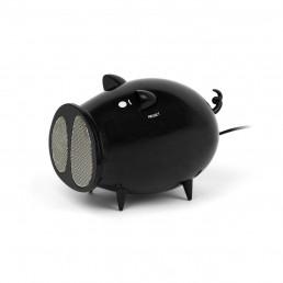 Haut-Parleur Radio Cochon Noir