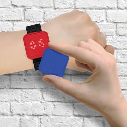 Montre Lumineuse - Blink Time Swap à Multi-Cadrans