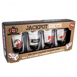 Shooters Jackpot Casino - Lot de 4