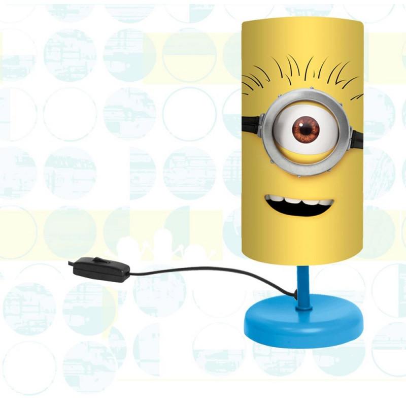 lampe de chevet les minions pour chambre enfant sur cadeaux et anniversaire. Black Bedroom Furniture Sets. Home Design Ideas
